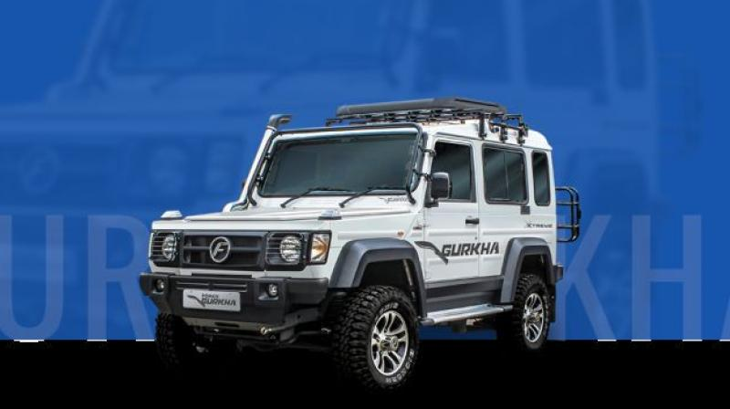 Force Gurkha Xtreme is available in 3-door version only.
