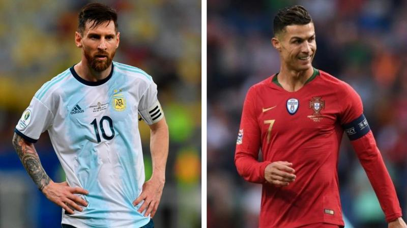 The debate about who between Cristiano Ronaldo and Lionel Messi is the greatest of all time has raged like wildfire ever since the two came into prominence. (Photo: AFP)