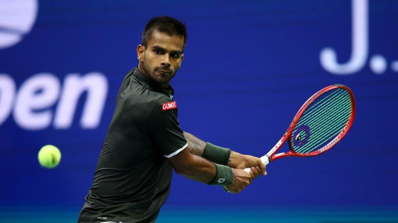 Sumit Nagal had recently made headlines after making his Grand Slam debut against Roger Federer in the recently concluded US Open. (Photo: AFP)