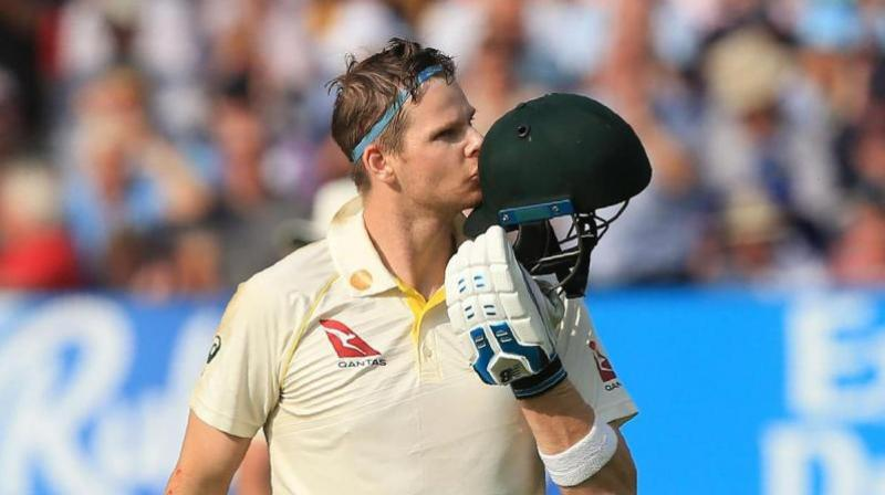 Steve Smith's splendid performance and steady mindset rewarded him with the captaincy of the national team. (Photo: AFP)