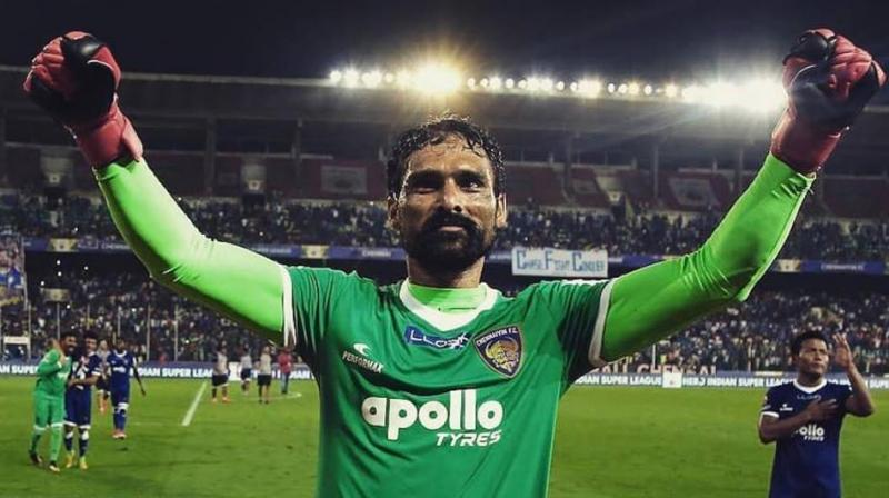 Having joined CFC in 2015, double Indian Super League title winner Karanjit Singh will be stepping into his fifth season with the club. (Photo: Facebook/ Karanjit Singh))