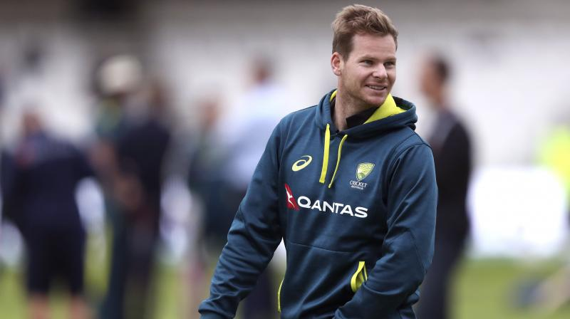 Steve Smith continued his buildup for the fourth Ashes test by heading straight to the practice nets. (Photo: AP)