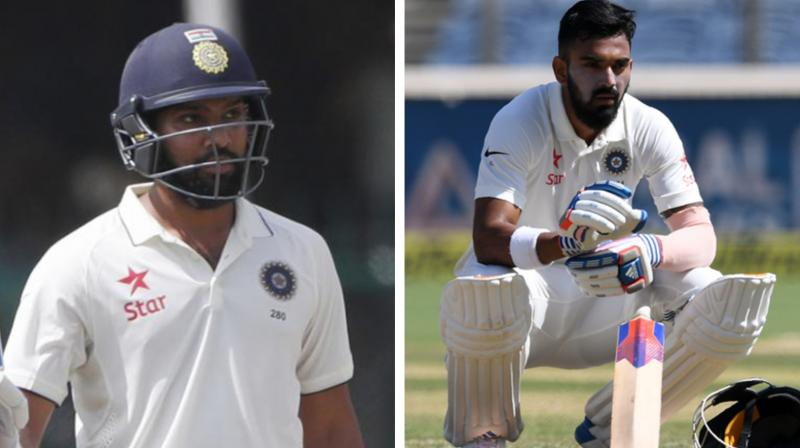 Rohit Sharma takes dig at KL Rahul, faces flak on Twitter