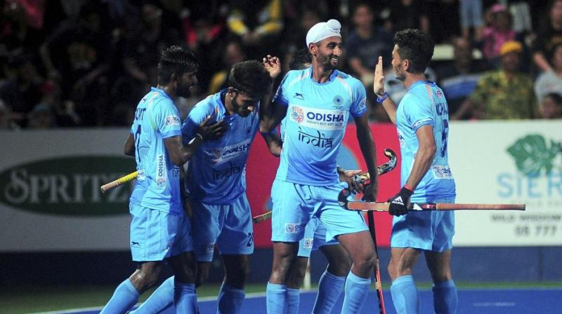 The Indian men's hockey team will open its campaign in the FIH Pro League against the Netherlands at home in January next year. (Photo: PTI)