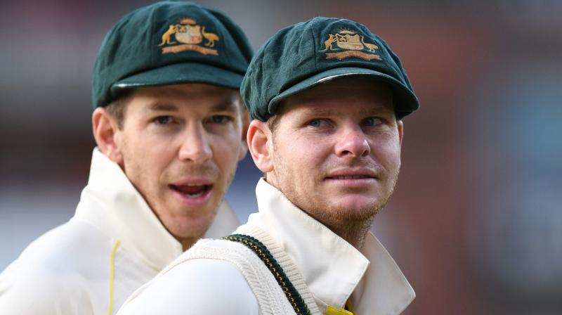 In the second innings, Australia was in a spot of bother at 44/4, but Smith played a vital 82-run knock to enable the side to declare at 186/6, setting England a target of 383 runs. (Photo: AFP)