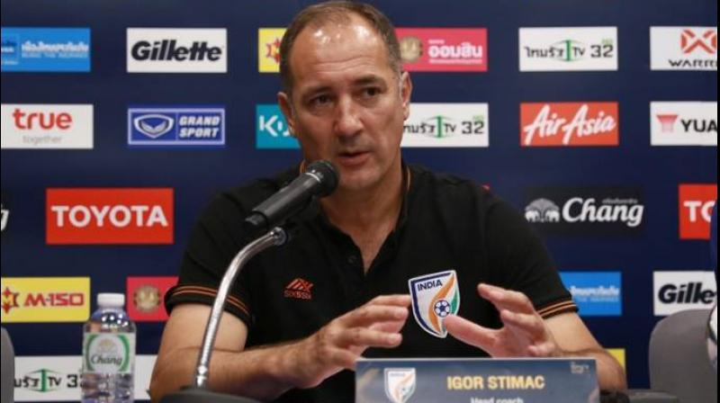 The former Croatian international wants the Indian players to stay focussed and garner more points in their upcoming matches. (Photo: AIFF Media)