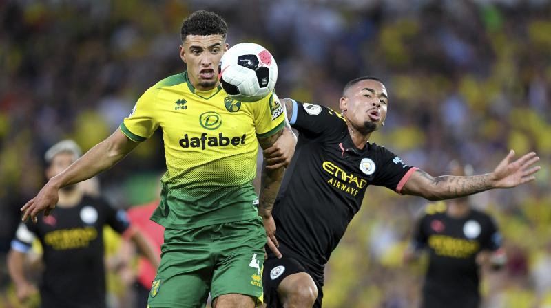 City rallied late on, but Rodri's first goal for the club two minutes from time was too little, too late. (Photo: AP)