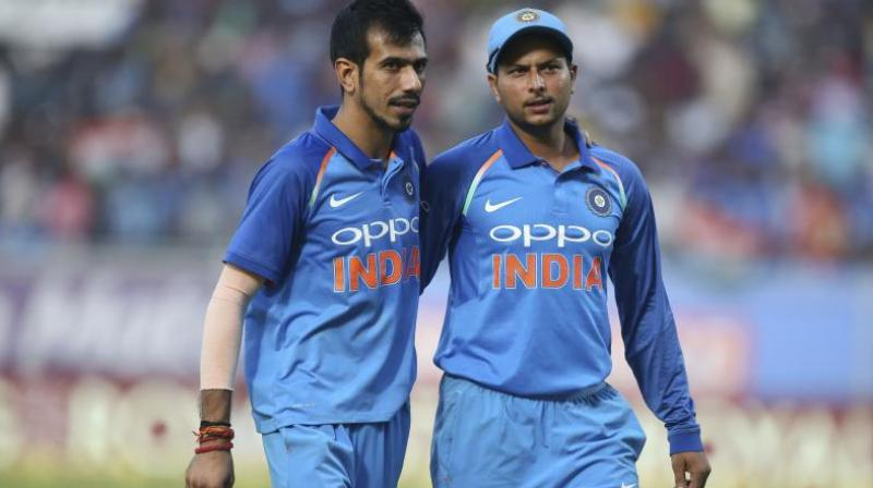 Former India opener Aakash Chopra feels the decision to exclude Kuldeep Yadav and Yuzvendra Chahal could be a double-edged sword. (Photo: AP)