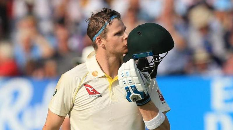 Before his dismissal took place in the second innings of the last Test, Smith's lowest score in the series was a mind-boggling 80 runs. (Photo: AFP)