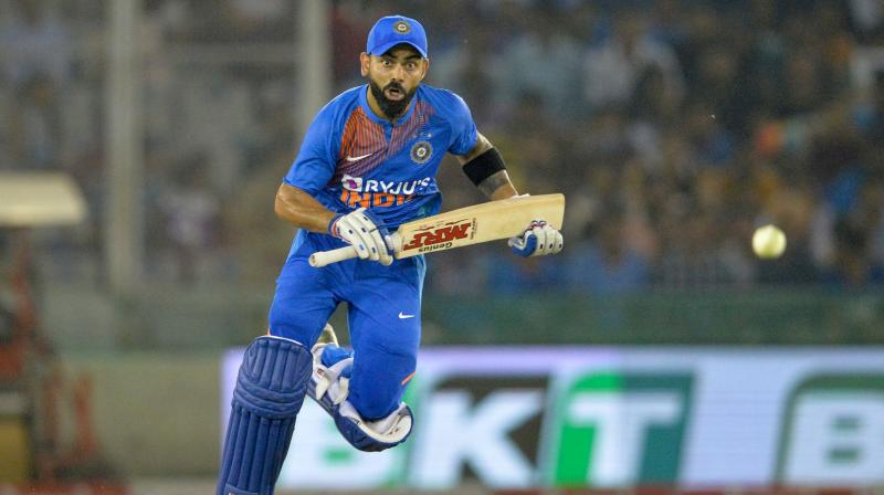 The 30-year-old Virat Kohli played an unbeaten knock of 72 runs to guide India to a comfortable win over Proteas by seven wickets and one over to spare. (Photo: AFP)