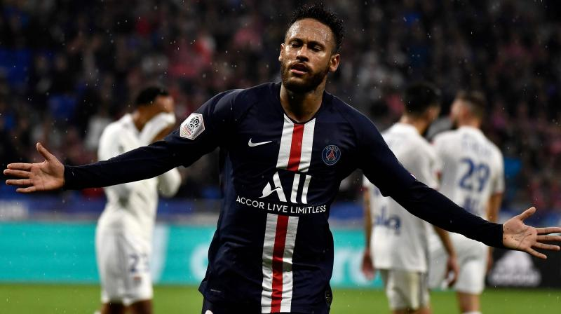Lyon vs PSG witnessed a goalless first half and in the 87th minute, Neymar scored a goal, handing PSG a 1-0 victory. (Photo: AFP)