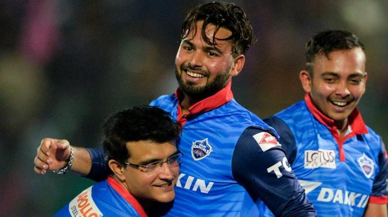Sourav Ganguly went on to state that Rishabh Pant is a longterm bet for India and also a solution of India's woes. (Photo: AFP)