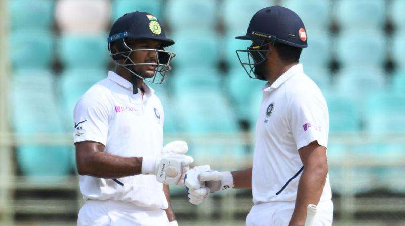 Rohit Sharma put up an impressive show in his new role as an opener scoring an unbeaten half-century. (Photo: AFP)