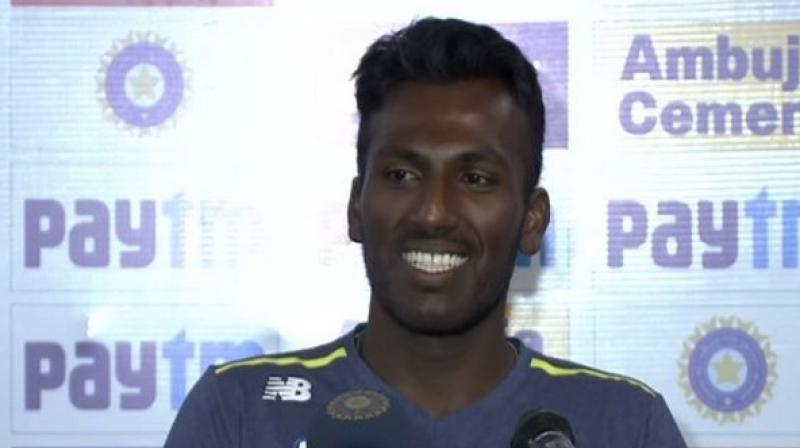 Senuran Muthusamy also stated that they were expecting a lot more turn but the conditions did not favour them. (Photo: ANI)