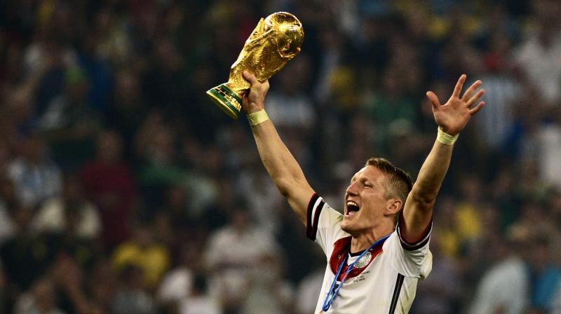 The 35-year-old, Bastian Schweinsteiger played over 300 matches for Bayern, managing to score 45 goals from 2002-2015. (Photo: Twitter/ Bastian Schweinsteiger)