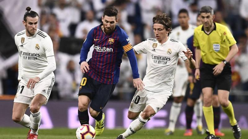 The organisers had initially wanted to shift the match from Barcelona to Madrid, but both the teams did not agree to this solution. (Photo: AFP)