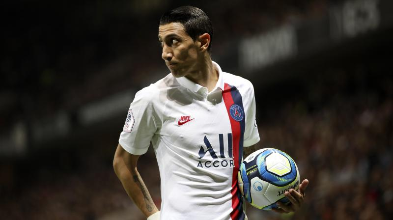 Angel Di Maria once again proved his worth with a double that earned Paris St Germain a 4-1 win at Nice. (Photo: AP)