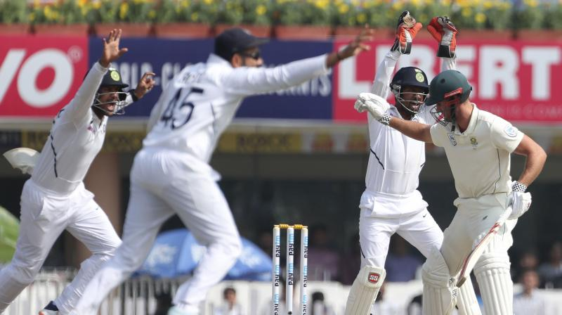India complete the whitewash of South Africa. (Photo: AP)