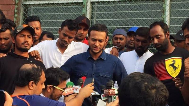 Cricket's global players' representative group has lent its support to Bangladesh players in their unprecedented strike over pay and benefits.