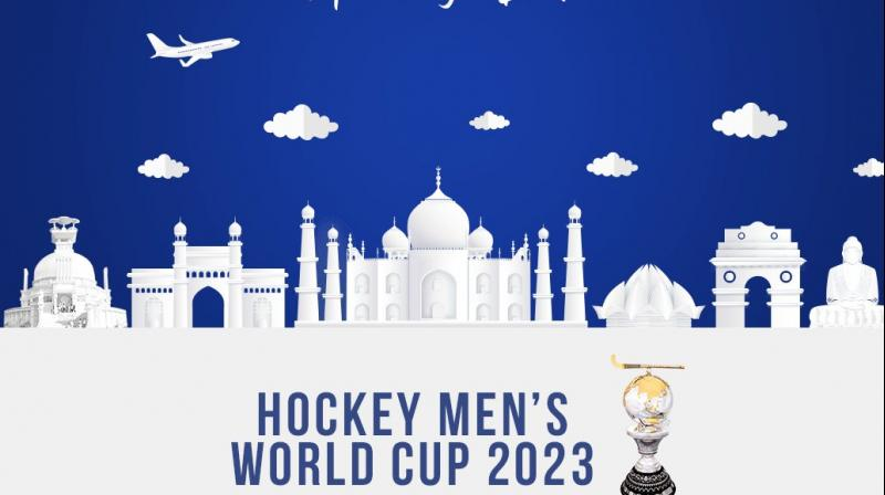 India will host the Men's Hockey World Cup for the second consecutive time after the country was picked to stage the game's showpiece event in 2023 by the International Hockey Federation (FIH) earlier this month. (Photo: Twitter/ Hockey India)