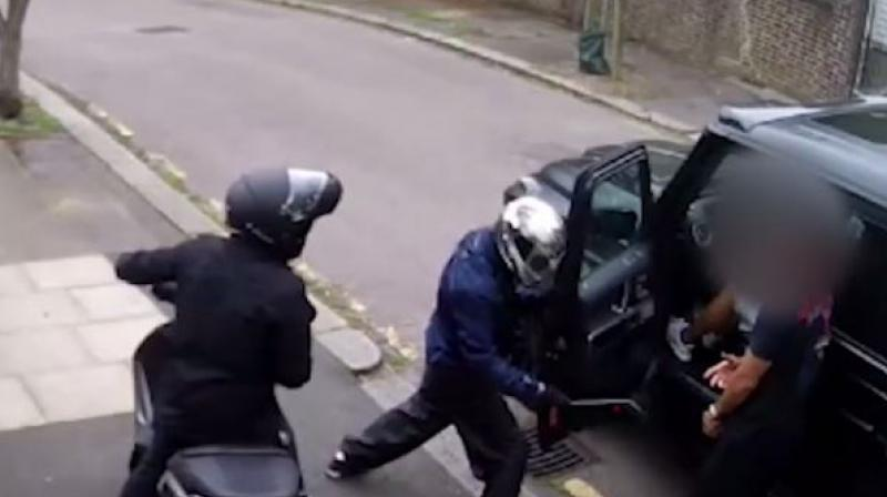 A man who tried to rob Arsenal players Mesut Ozil and Sead Kolasinac at knifepoint in a failed North London carjacking last July was sentenced to 10 years in jail. (Photo: YouTube screenshot)