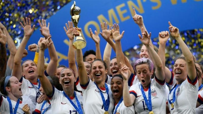 The members of the U.S. women's national soccer team who sued the U.S. Soccer Federation (USSF) in March over allegations of gender discrimination can pursue their claims as a class action. (Photo: AFP)
