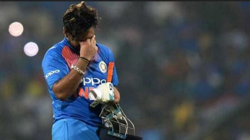 Rishabh Pant's batting and his wicket-keeping skills came under a lot of criticism from the fans along with the inability to take DRS calls for India while behind the stumps. (Photo: AFP)