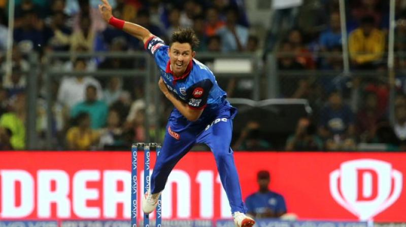 Trent Boult has perfromed very well in the Indian Premier League and now will look froward to doing the same with Mumbai Indians. (Photo: Twitter/ Mumbai Indians)