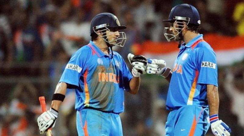 Mahendra SIngh Dhoni has oftentimes been blamed for Gautam Gambhir's ouster from the Indian team. (Photo: Twitter)