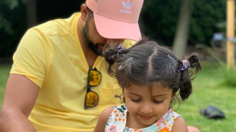 India batsman Suresh Raina said that seeing his daughter having breathing problems was a 'terrible sight'. (Photo: Twitter/ Suresh Raina)