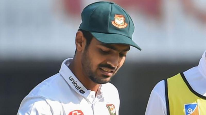 Said Hassan, who missed the day-night ball Test at Eden Gardens because of a split webbing, had stayed back with the team without realising that his six-month visa had already expired. (Photo: PTI)