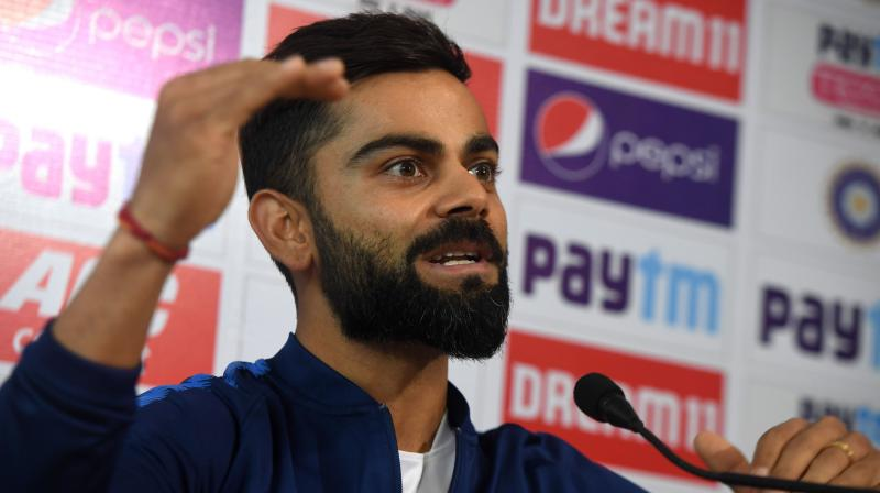 Virat Kohli said that it would be nice to see a Test match being played with around 80,000 spectators watching it. (Photo: PTI)