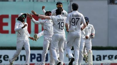 This is India's as well as Bangladesh's first-ever day-night Test. (Photo: Twitter/ BCCI)