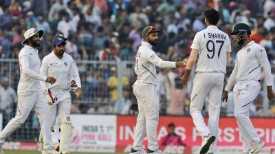 This is India's as well as Bangladesh's first-ever day-night Test. (Photo: AP)