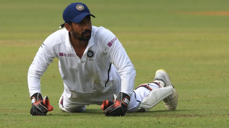 Apart from Dhoni and Wriddhiman Saha, Syed Kirmani, Kiran More and Nayan Mongia are the other wicket-keepers to have affected 100 dismissals in Tests. (Photo: Twitter/ ICC)