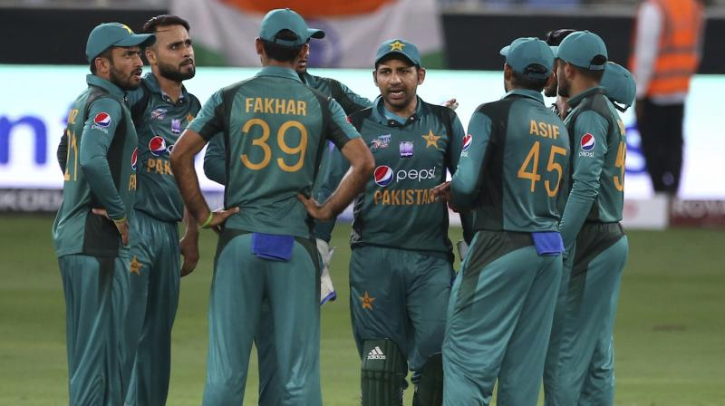 Pakistan Cricket Board (PCB) on Friday rejected a suggestion from national team captain Sarfaraz Ahmed to have players' families travelling with them during the World Cup in England. (Photo: AP)