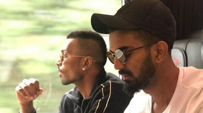 Pandya and Rahul were provisionally suspended by the Committee of Administrators (COA) for their remarks before the suspension was lifted pending an inquiry by the Ombudsman. (Photo: Instagram / KL Rahul)