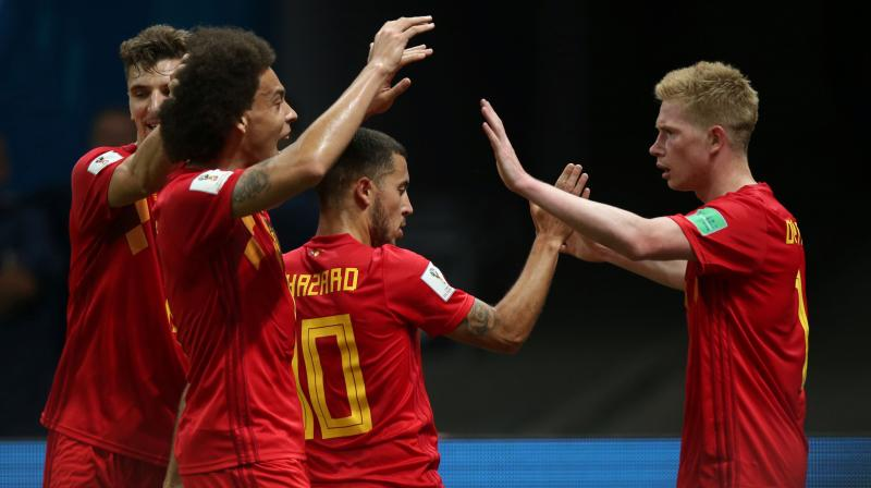 Three of Belgium's so-called golden generation – Kevin De Bruyne, Romelu Lukaku and Eden Hazard – ran riot in the first half in Kazan and the Red Devils showed impressive resilience to hold on in the second period in the face of incessant pressure. (Photo: AFP)