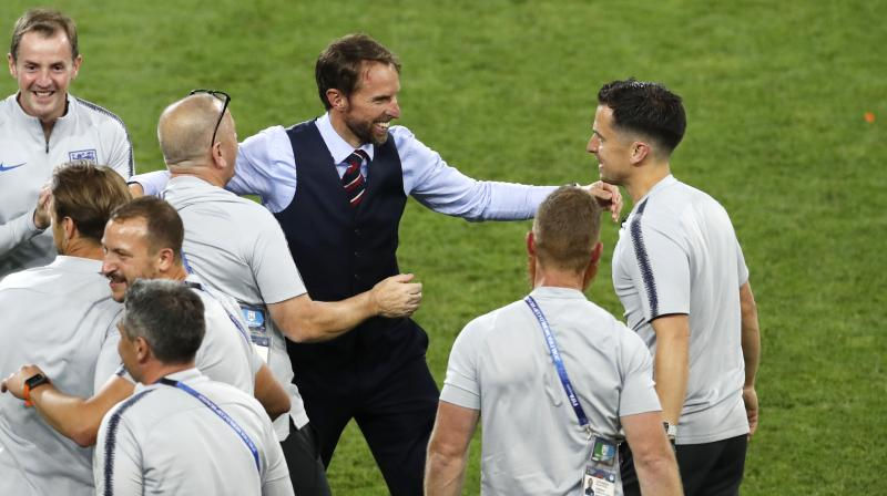 Gareth Southgate's young side face Sweden in Samara with a place in the last four against either Croatia or hosts Russia up for grabs. (Photo: AP)