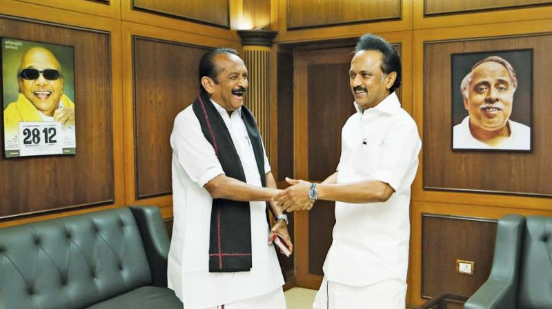 Chennai: M K Stalin puts speculation to rest, confirms alliances