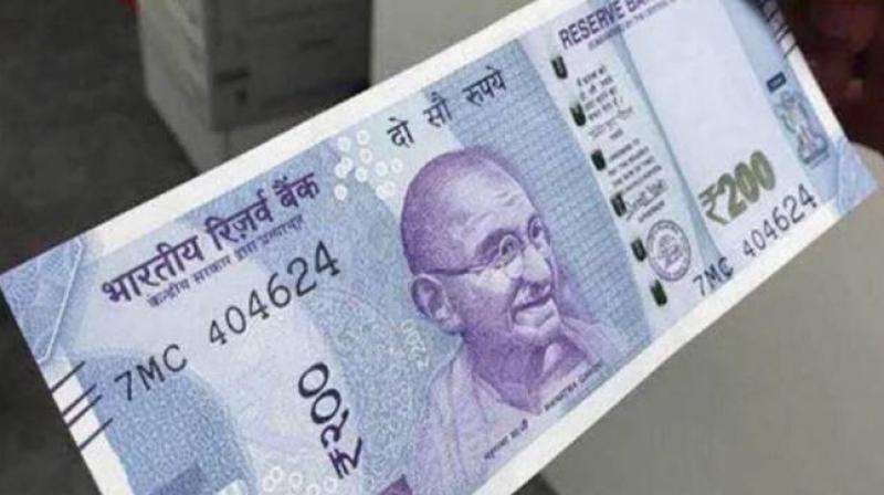 Veracity of this Rs 200 note is still to be asceratined.