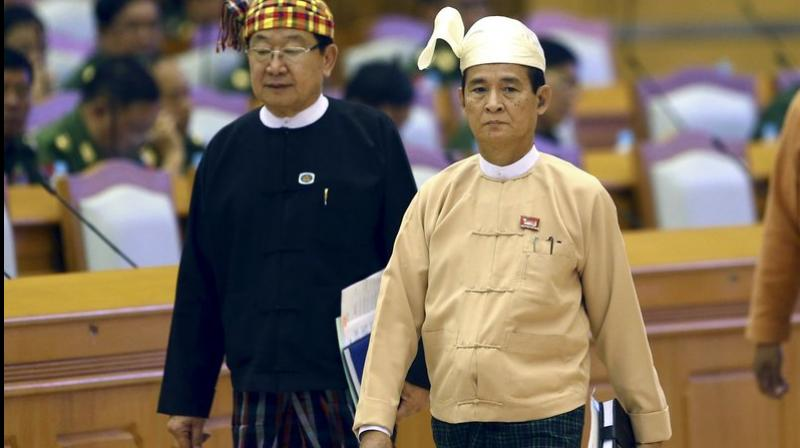Myanmar picks new president after predecessor's sudden resignation