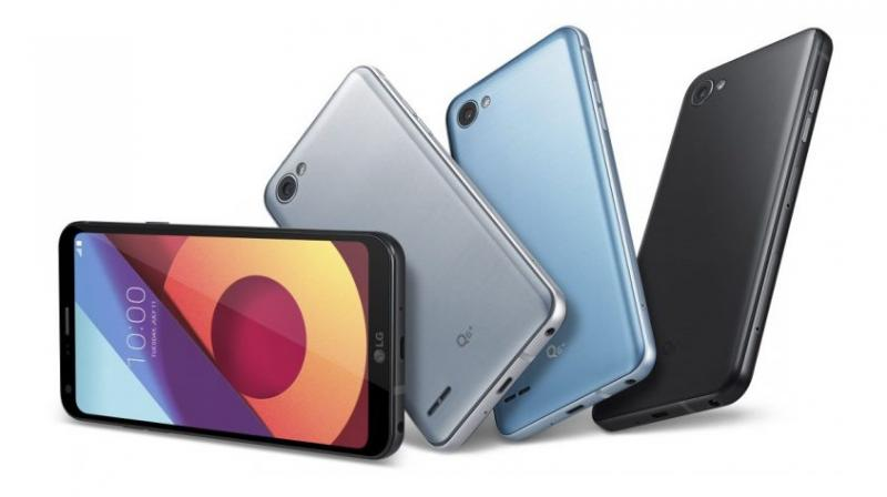 These phones come in Astro Black and Ice Platinum colors, while the Q6 also comes in Mystic White and Terra Gold colors.
