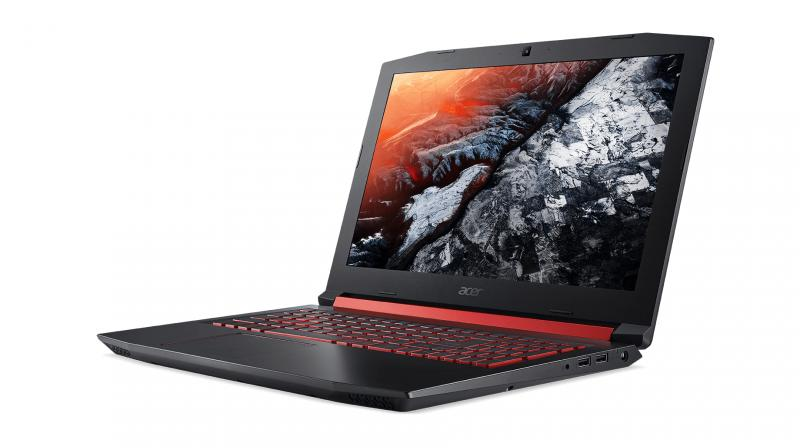 Acer Nitro 5 offers a 15.6-inch FHD (1920 x 1080) IPS display, while Dolby Audio Premium and Acer TrueHarmony technology claims to provide quality audio, wider bass, surround sound and crystal clear clarity to provide immersive experiences for gaming or watching movies.