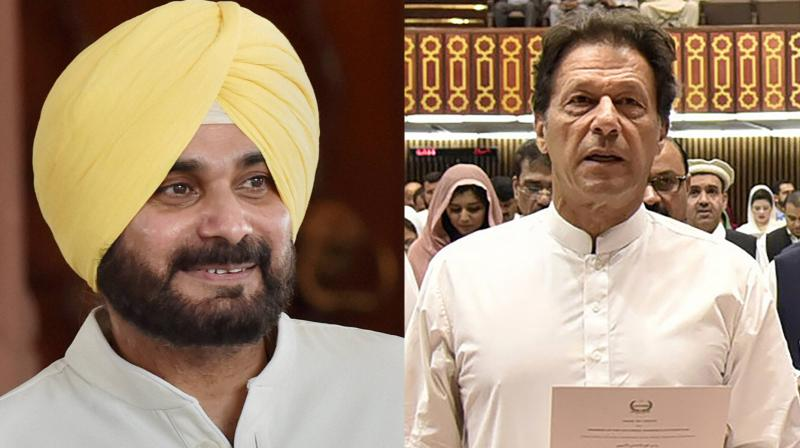 Pakistan's prime minister-elect Imran Khan had called up Navjot Singh Sidhu to extend invitation to his oath-taking ceremony in Islamabad on August 18. (Photo: PTI / AFP)