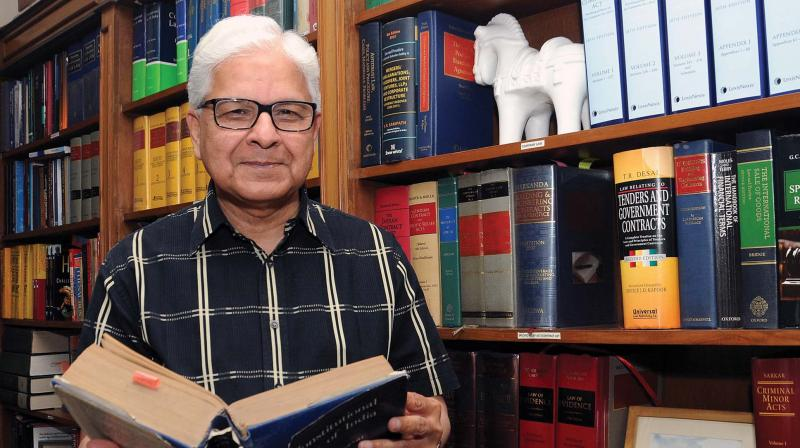 Former Union minister Ashwani Kumar             ( Image: G.N. JHA )