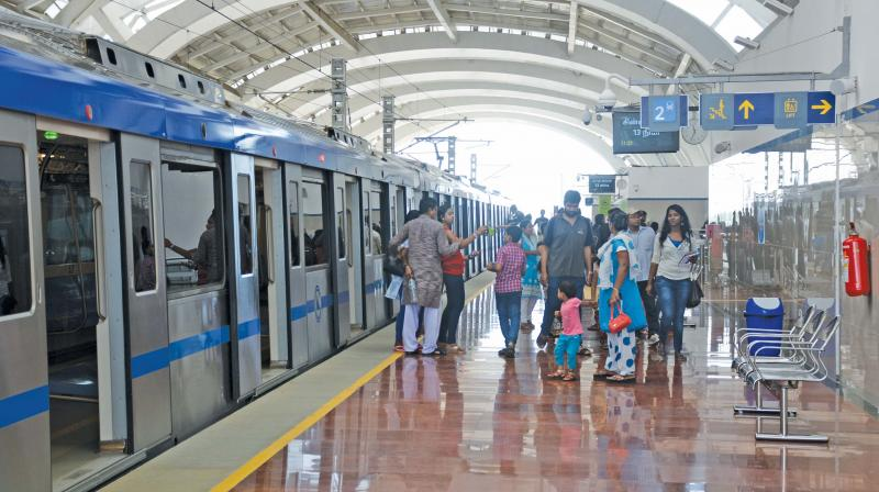 With its convenient ambience and speed, the metro has proven to be a time saver.