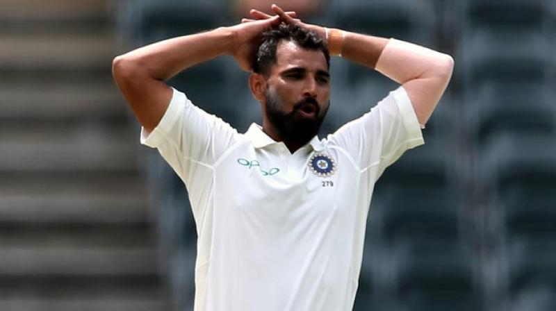 Mohammed Shami sustains head injury in road accident
