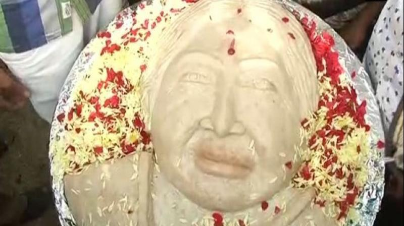 Following the news of Jayalalithaa's demise, many people died of cardiac arrests and suicide. (Photo: ANI Twitter)