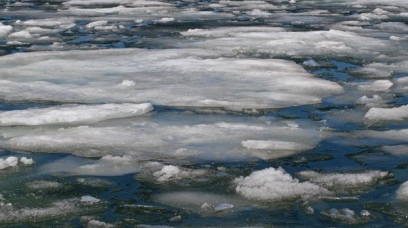Arctic Ocean sea ice and open water routes were assessed from the North Atlantic to North Pacific oceans. (Photo: ANI)